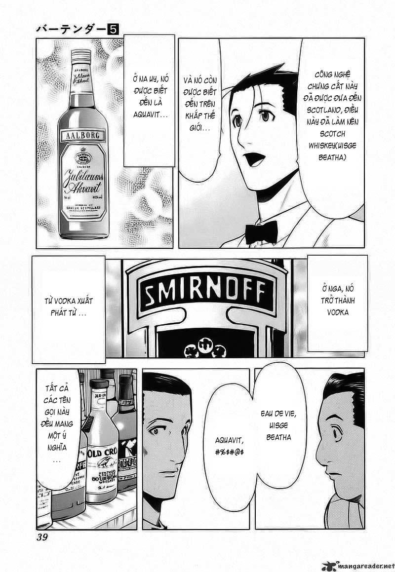 Bartender chap 33 Trang 14 - Mangak.info