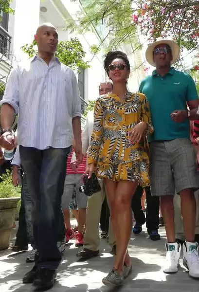 Jay Z t Beyoncé en el casco histórico de la habana vieja