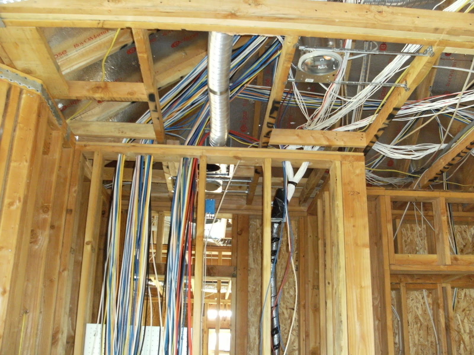 How we build your dream home part 5 for House electrical wiring