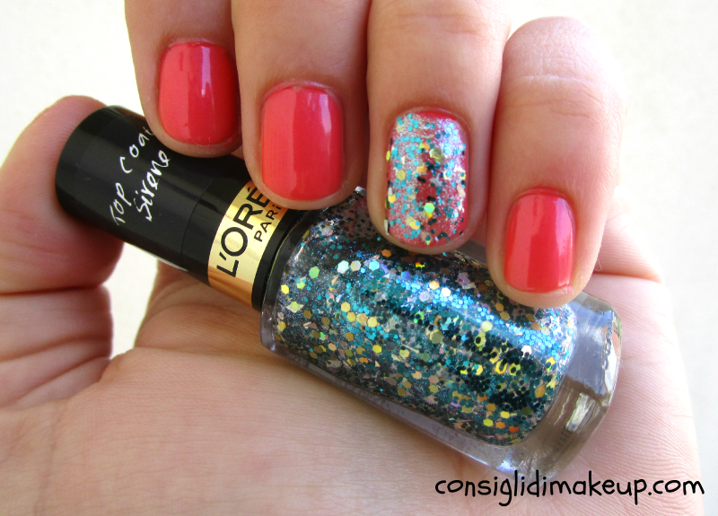 NOTD: Orange After Party + Under My Spell - L'Oreal Paris