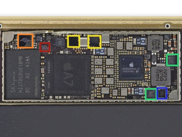 Ipad Mini Teardown Logic Board Rear on Iphone 4 Schematic Diagram