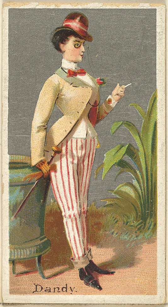 "Dandy. Vintage tobacco card ""Occupations For Women"", via ellomennopee"