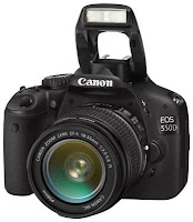 Camera Canon EOS 550D Kit1