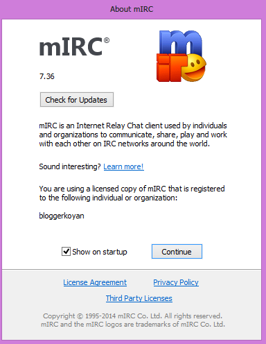 mIRC v7.36 full with patch