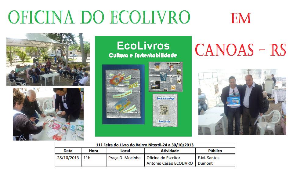 Feira do Livro do Bairro Niterói em Canoas - RS