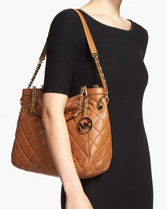Medium Susannah Quilted Shoulder Bag 79