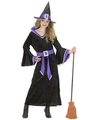 Hekse kostume til halloween