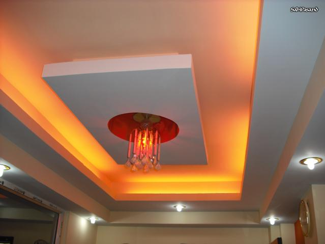 Interior design ideas living room false ceiling designs 2014 for Decoration placoplatre