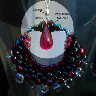 how to use Preciosa Twin Beads