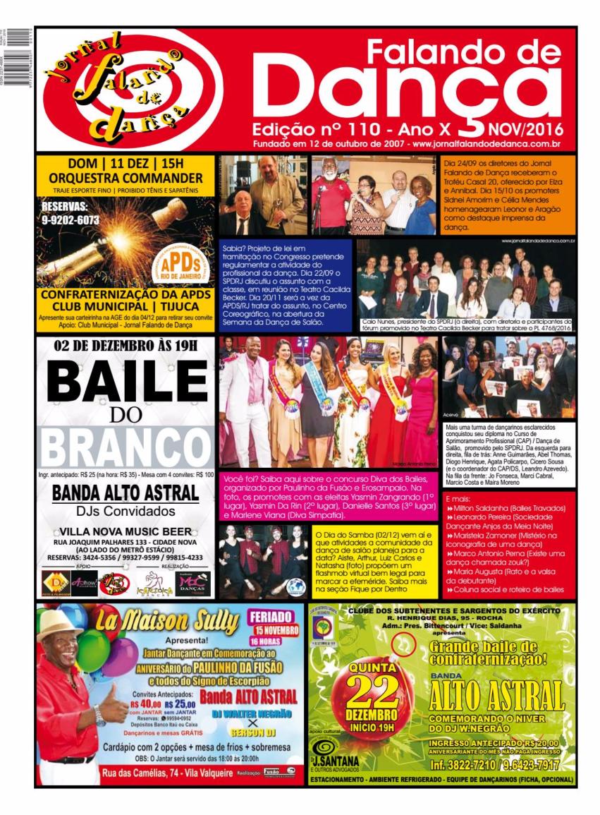 Leia on line a ed 110 (Novembro/2016)