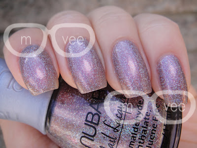 Mousy holographic polish