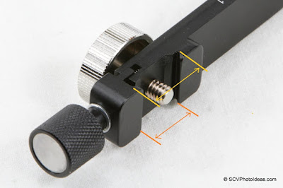 Desmond DAFB-01 flash clamp dimensions