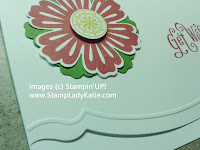 Card made with Stampin'UP! Edgelits and Matching Embossing Folder