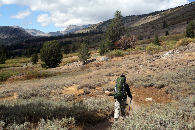 hiking pacific crest trail