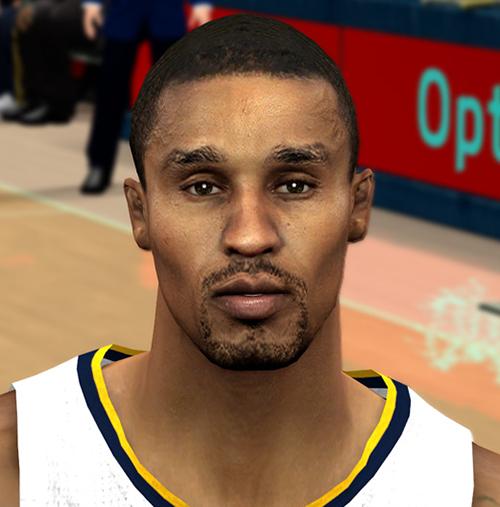 NBA 2K14 George Hill Face Mod