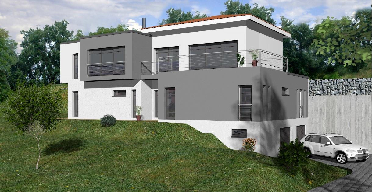 Plan Maison Moderne Sous Sol