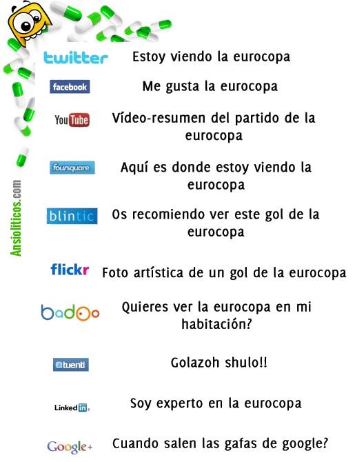 Chiste de la Eurocopa en las Redes Sociales
