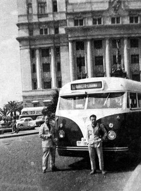 Historias canarias guaguas de tenerife titsa - Transporte entre islas canarias ...