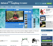 Bristol Match Angling Centre Website