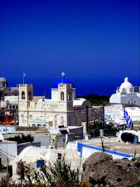The Colours of Santorini