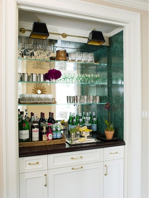 Pinned From Built In Wet Bar Designs