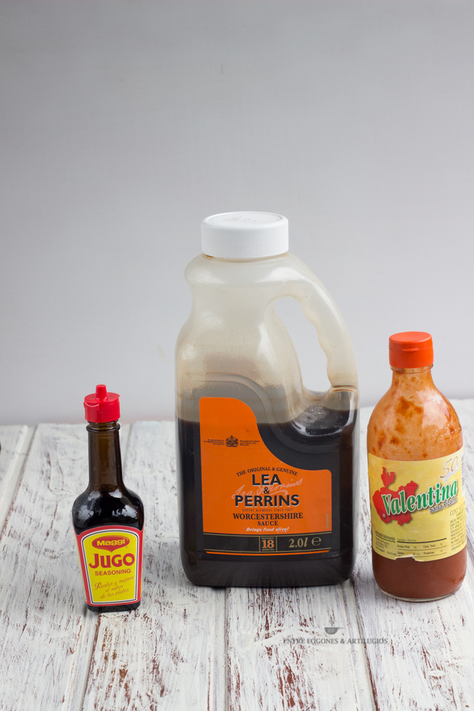 ingredientes para la michelada