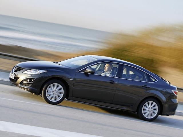 Side image of new Mazda 6