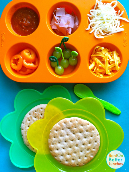 DIY mini pizza muffin tin meals