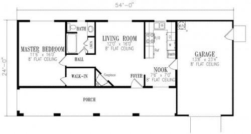 Planos de casas modelos y dise os de casas planos de for Planos de construccion de casas pequenas