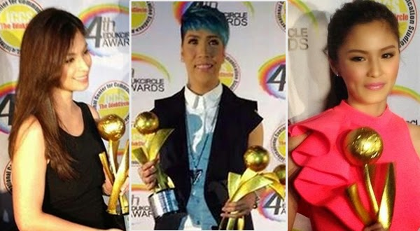 Vice Ganda, Kim Chiu, and Angel Locsin Big Winners at 4th Eduk Circle Awards