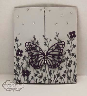 Saleabration 2015, Stampin' Up!, gate fold card