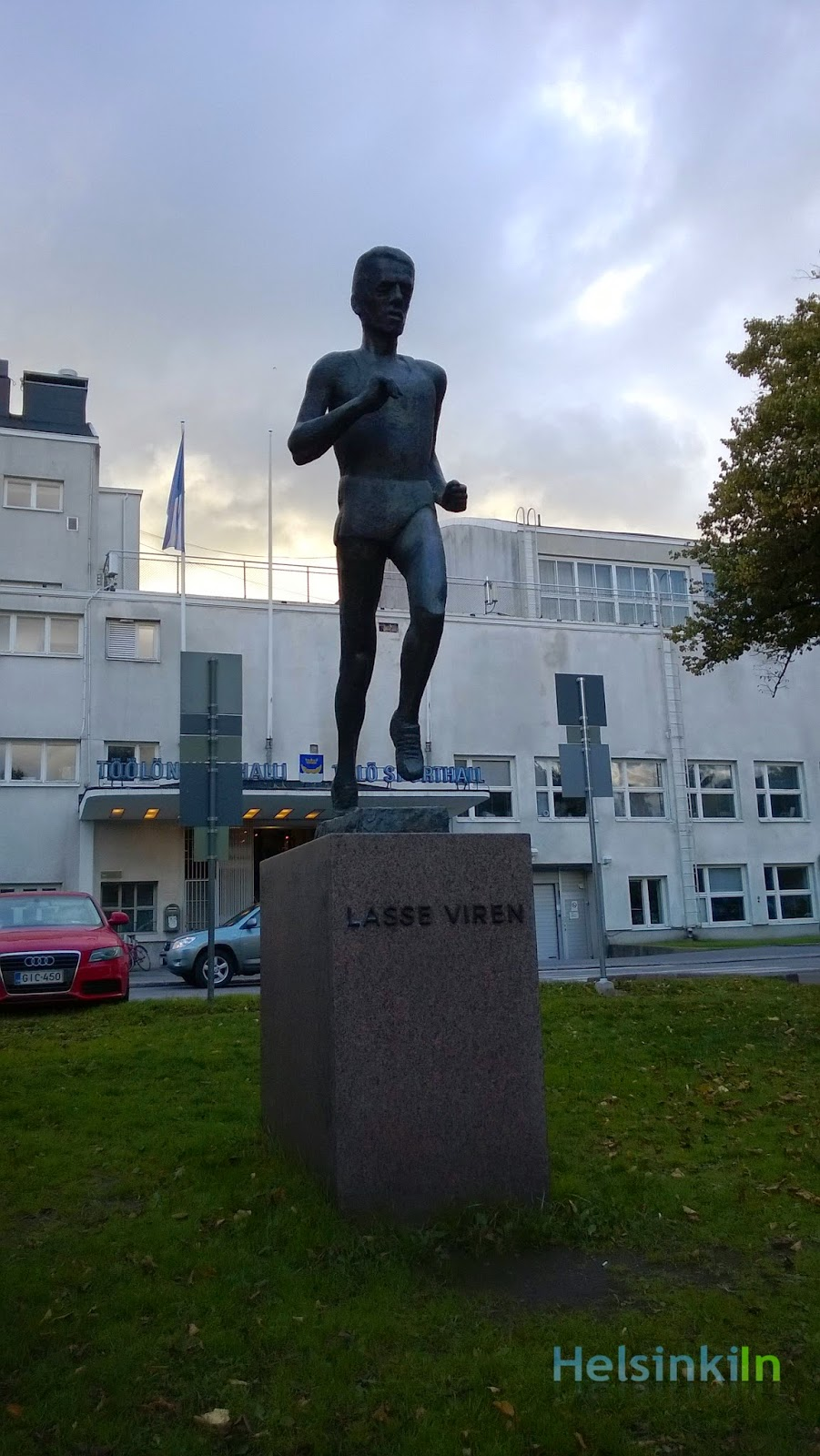 Lasse Virén statue