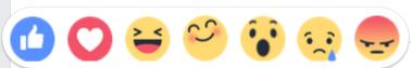 Facebook estrena nuevos botones