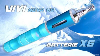 Config Batterie X6 + Vivi Nova V5