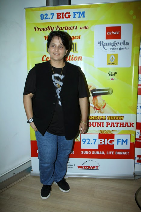 Falguni Pathak at 92.7 Big Fm Studio Event Photos