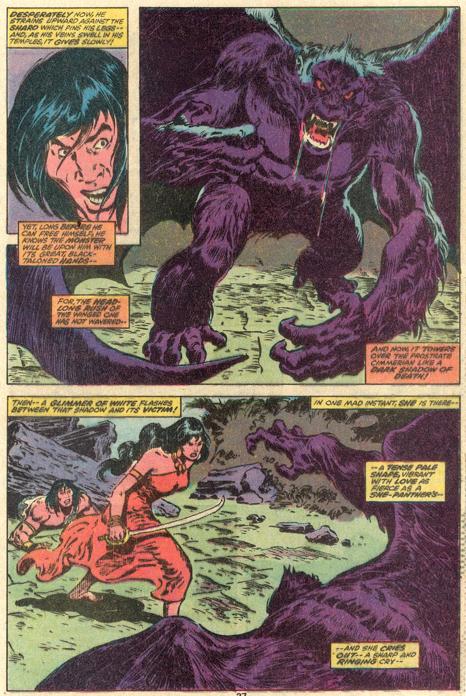 Conan the Barbarian (1970) Issue #100 #112 - English 29