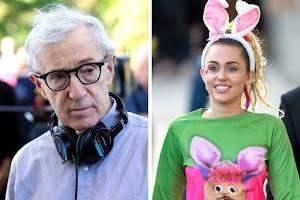 Woody Allen escala Miley Cyrus para estrelar sua série na TV