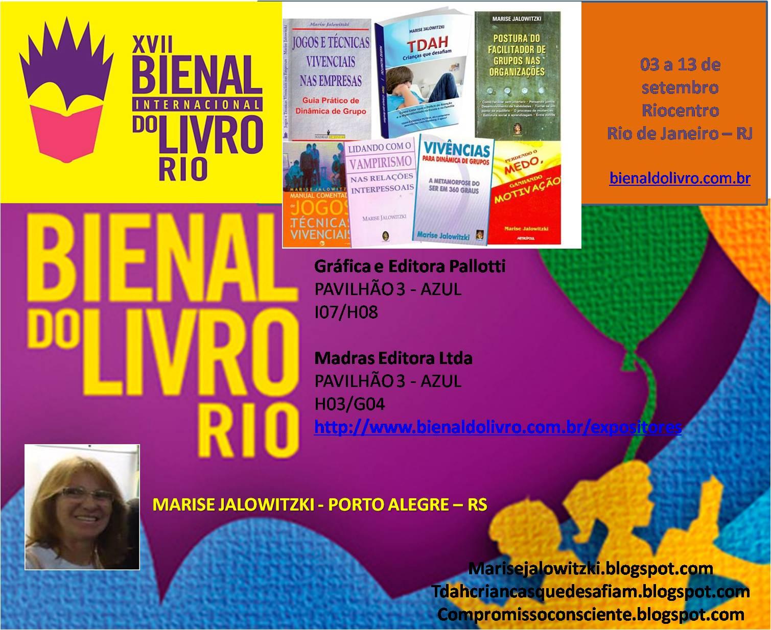 BIENAL INTERNACIONAL DO LIVRO - RIO DE JANEIRO - 2015