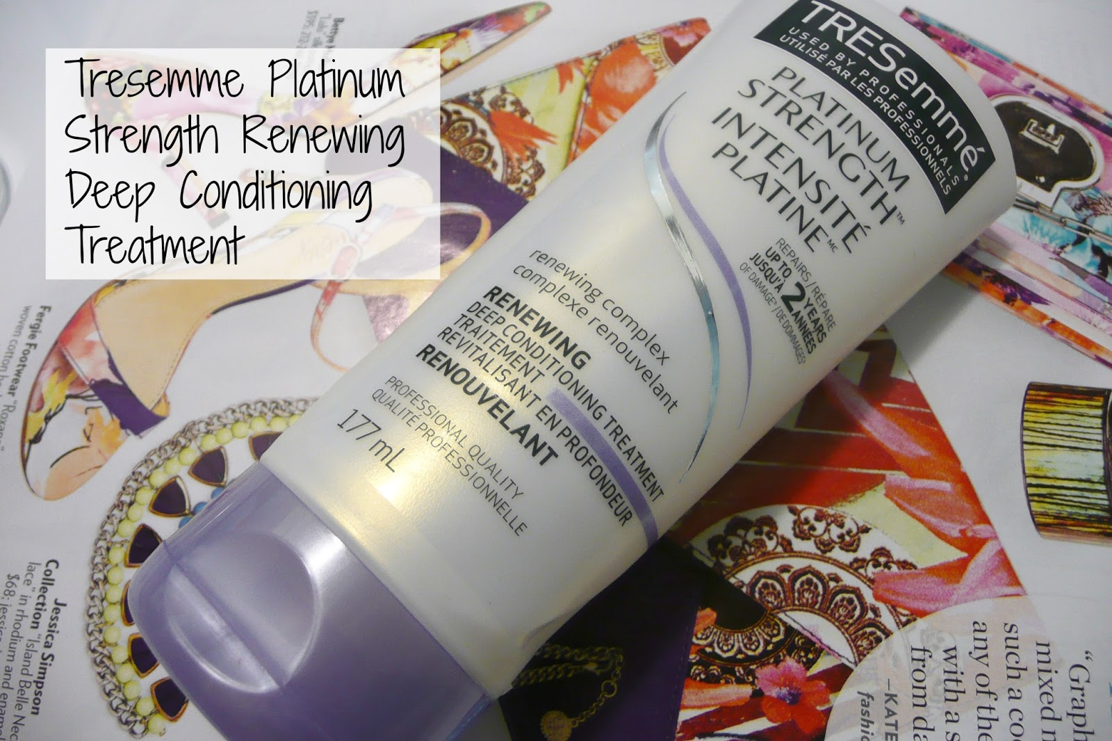 Tresemme Platinum Strength Review