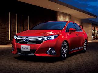 Toyota Sai Hybrid 2014