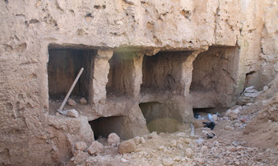 Graeco-Roman tombs uncovered in Alexandria