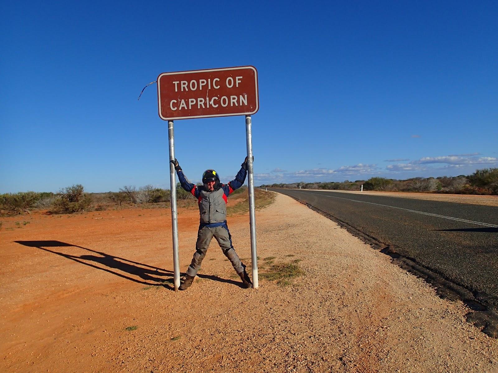 Capricorn date in Australia