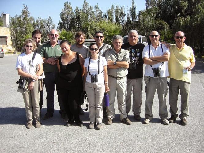Salida a ver la migración al Estrecho de Gibraltar