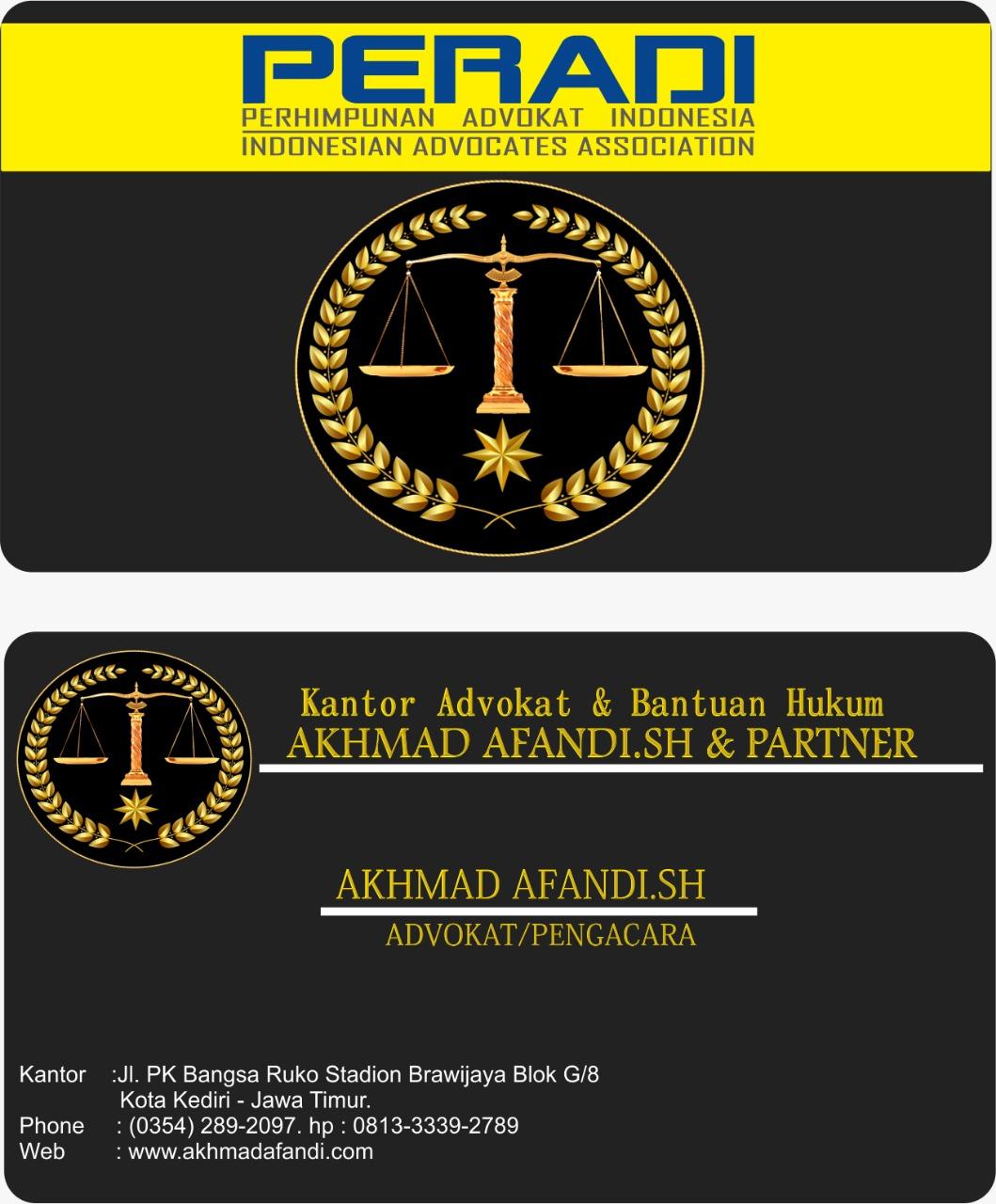 Kantor Advokat & Bantuan Hukum