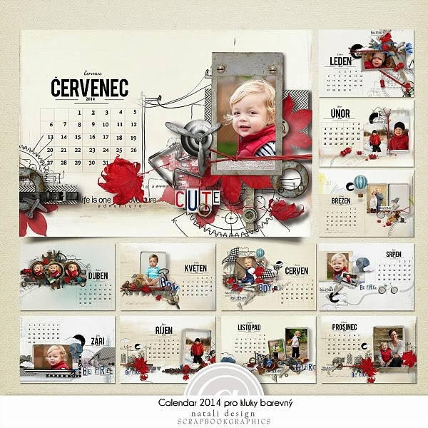 http://shop.scrapbookgraphics.com/Calendar-2014-for-Boys-Czech-Color.html