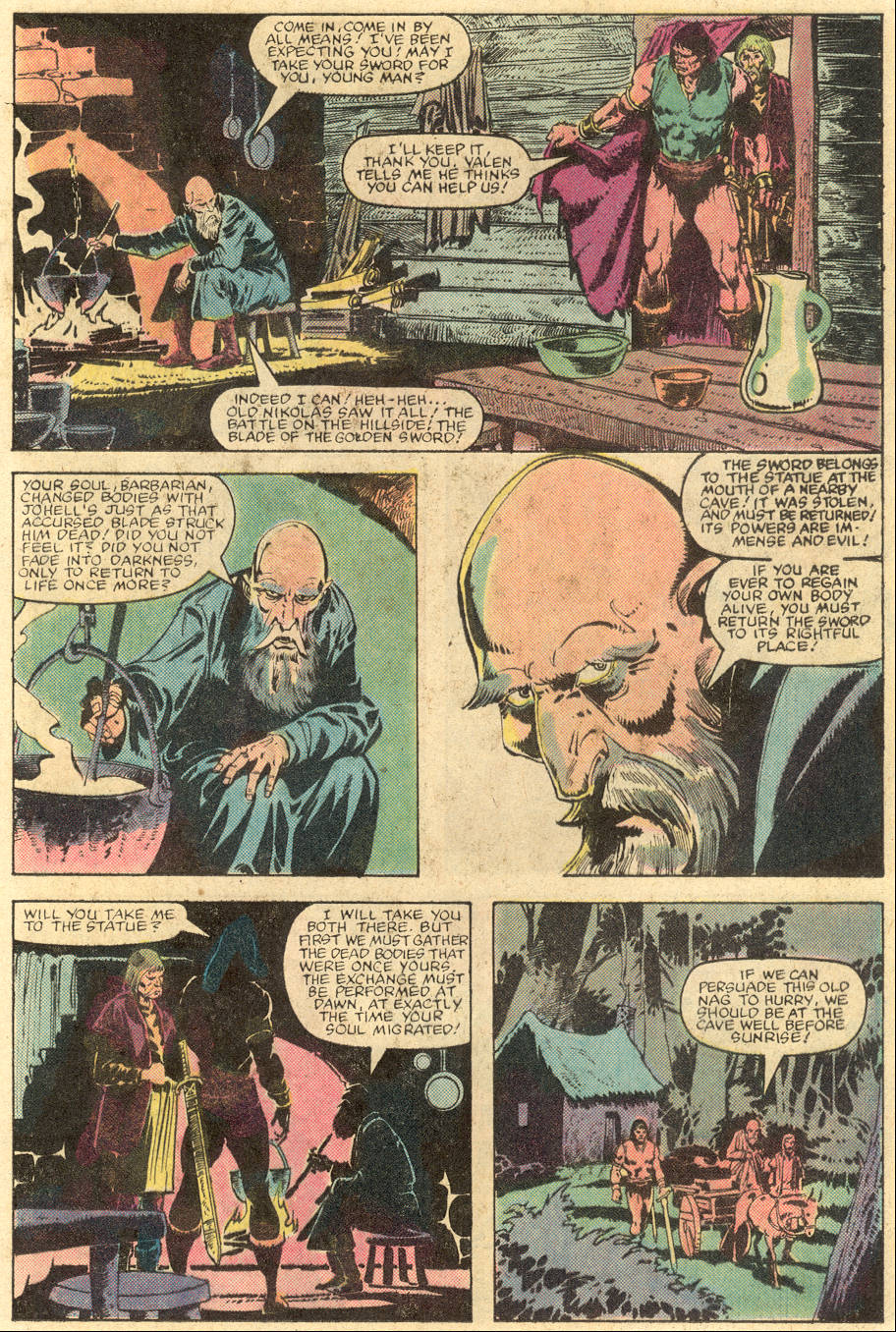 Conan the Barbarian (1970) Issue #143 #155 - English 18