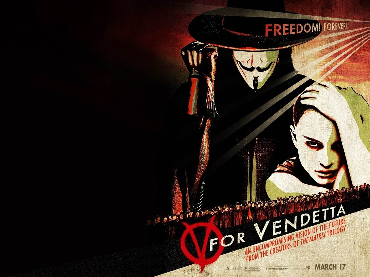 cinesguardo recensione v per vendetta 2005