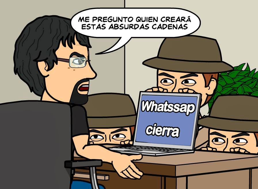 fakes en whatsapp
