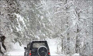 Harsh weather in upper areas of Pakistan