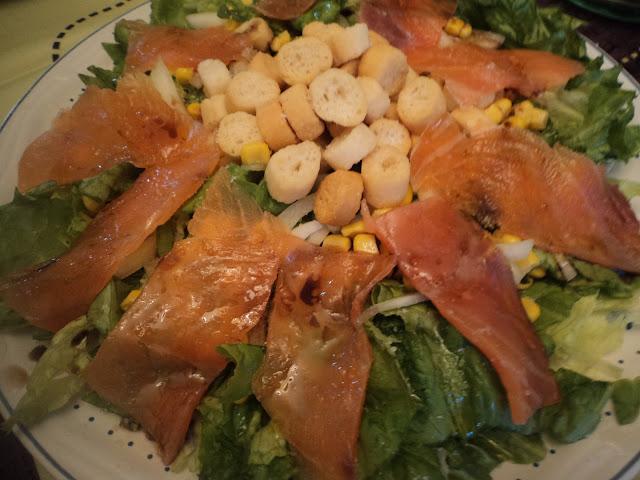 ensalada de salmón Alba hogar